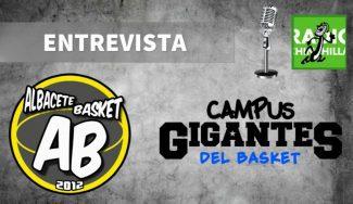 ¿Cómo será el Campus Gigantes de Albacete? Gran ritmo de inscritos, contado por Álex Sanchez…