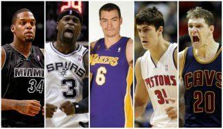 Veinte jugadores que quizá no recordabas que tienen un anillo NBA
