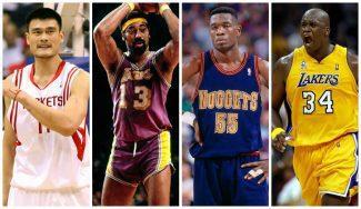 Los mejores 'gigantes' de la historia de la NBA