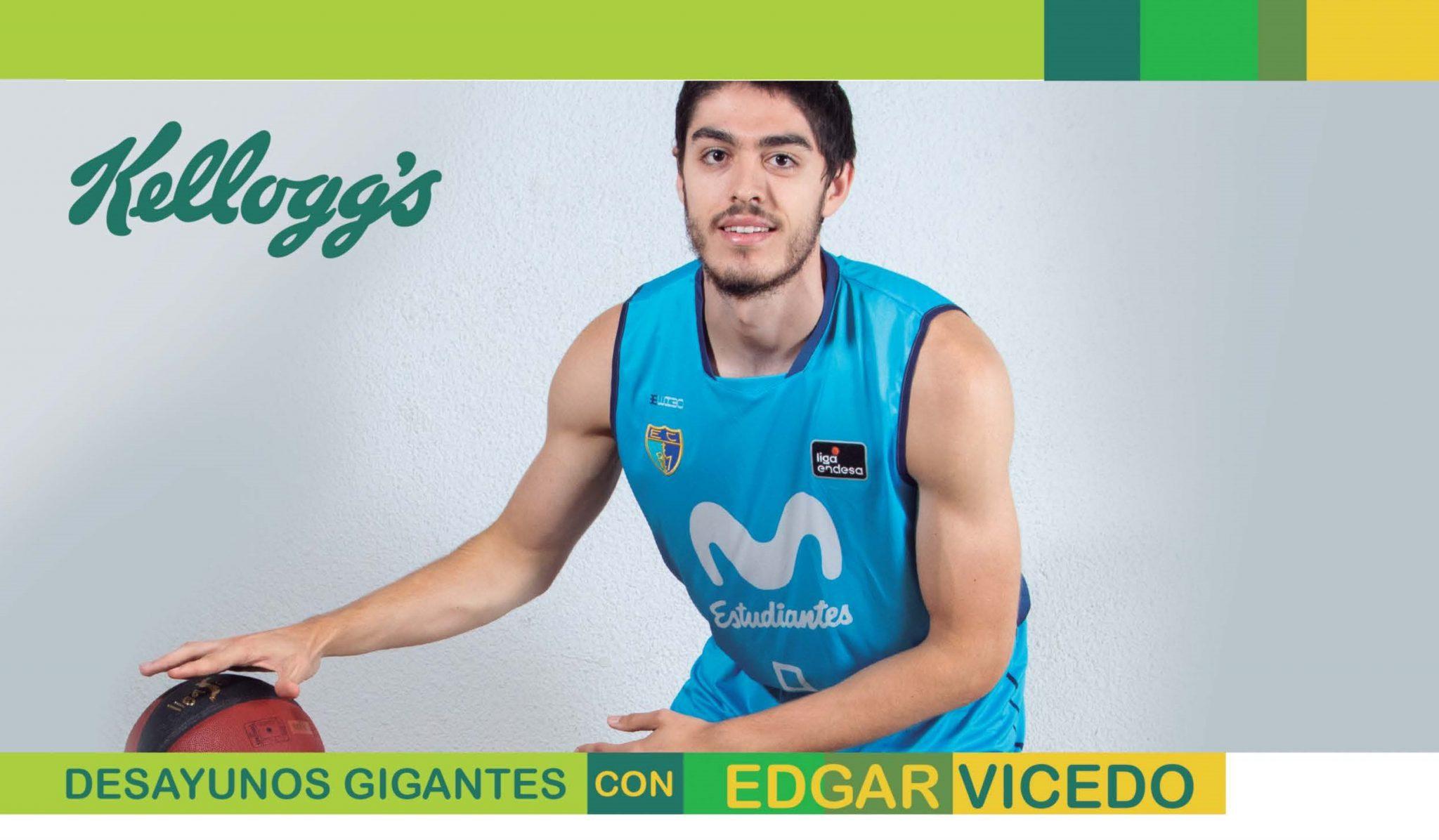 Desayunos Gigantes: Edgar Vicedo nos cuenta su experiencia con productos Kellogg's