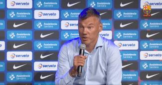 Primera rueda de prensa de Jasikevicius en el Barça: aquí tienes lo más interesante
