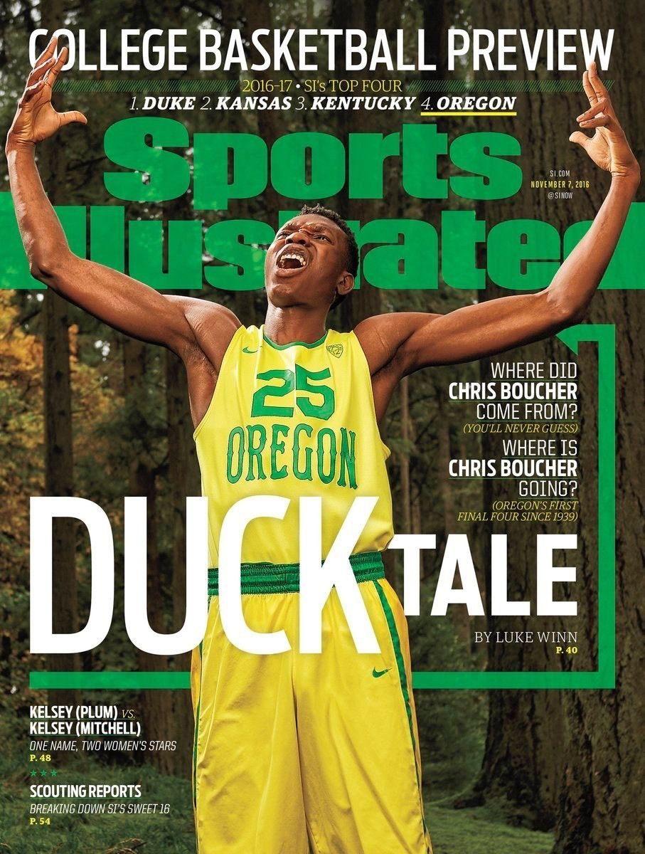 Chris Boucher - Sports Illustrated