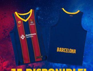 El Barcelona presenta su nueva camiseta para esta temporada