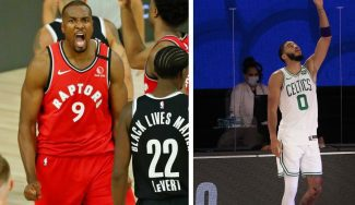 Toronto y Boston se verán las caras por primera vez en la historia en unos Playoffs
