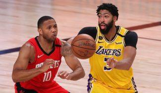 Los Angeles Lakers abusan del 'small-ball' de los Houston Rockets