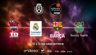 Iberostar Tenerife – Real Madrid, SuperCopa ACB 2020: horario y TV del partido