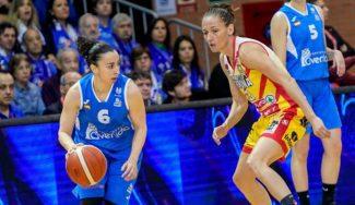 Silvia Domínguez pasa página tras el susto previo a la SuperCopa Femenina Endesa